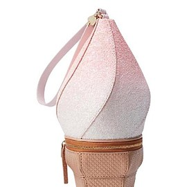 Kate Spade - Flavor Of The Month Ice Cream Pink Multi-colored Leather Synthetic Wristlet