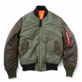 bal, ALPHA - MA-1 TYPE JACKET