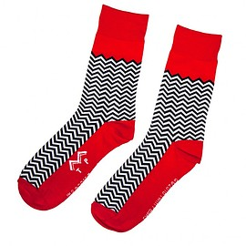 Showtime - Twin Peaks: Red Room Socks
