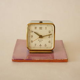 smi bijou - smi bijou/small alarm clock/france 1920s/working