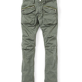 nonnative - TROOPER PANTS C/P ARMY CLOTH STRETCH