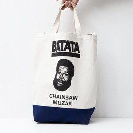 TACOMA FUJI RECORDS - BATATA TOTE BAG designed by Tomoo Gokita