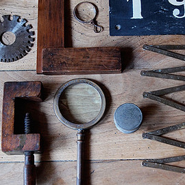 finestaRt - 様々な道具-metal and wood tool