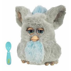 Tiger Electronics - Furby 2005  gray with blue