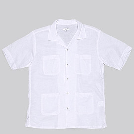 ENGINEERED GARMENTS - Chauncey Shirt-C/L Handkerchief-White