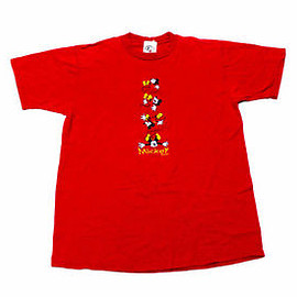 Disney - Vintage 1990s 90s Embroidered Disney Mickey Mouse Shirt Made in USA Mens Medium