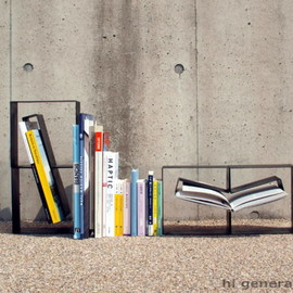MASAKAZU HORI DESIGN - continue_bookend