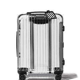 RIMOWA, OFF-WHITE - Transparent Polycarbonate Carry-on Case