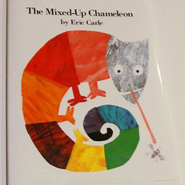 Eric Carle - The Mixed-Up Chameleon - Board Book