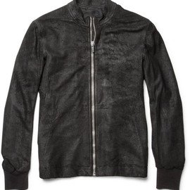 Rick Owens  - Blister Leather Jacket