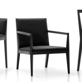 K% for Nendo  (Oki Sato) - Pencil01 chairs / black&black Collection