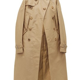 JUNYA WATANABE COMME des GARCONS - SS2020 Button-front technical-gabardine cape
