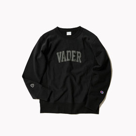 BEAMS, Champion - Vader Sweatshirt - Black/Grey