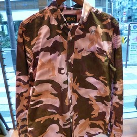 HBNS - Camo Block Stripe Shirts