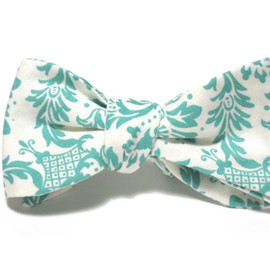 Starboard Clothing Co. - GIBSON TEAL DAMASK BEAU