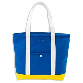 UNIVERSAL PRODUCTS - TOTE BAG / M[BLU/WHT/YEL]