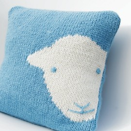 Janice Anderson - Herdy Cushion Cover Knit Kit