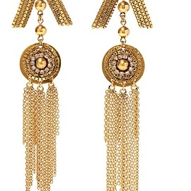 Erickson Beamon - Awaken gold-plated crystal earrings