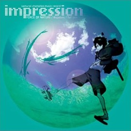 Nujabes & other artists - samurai champloo music record impression