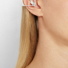 CAPITOL COUTURE BY TRISH SUMMERVILLE - Silver ear cuff