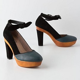 Anthropologie - Tied Nightsky Platforms