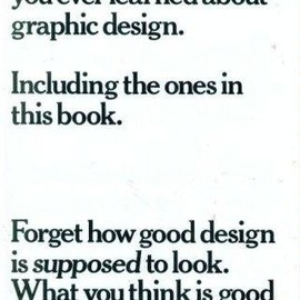 Bob Gill - Forget All the Rules You Ever Learned About Graphic Design: Including the Ones in This Book
