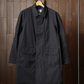 THE NORTH FACE PURPLE LABEL - THE NORTH FACE PURPLE LABEL|65/35 INSULATED SOUTIEN COLLAR COAT #DARK NAVY