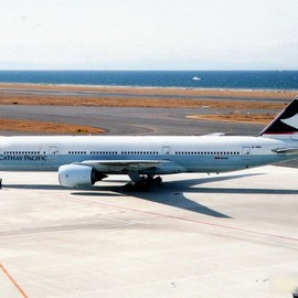 Cathay Pacific - Cathay Pacific Boeing B777-267