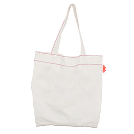 written by by - small crab tote bag