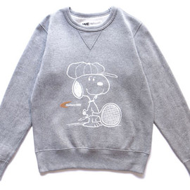 Gallery 1950 - Snoopy x Gallery1950 Loopwheel Sweat Crew