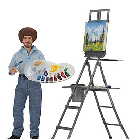 """NECA - Bob Ross-8""""Clothed Action Figure"""