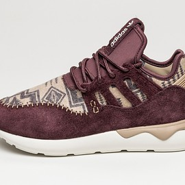 adidas - Tubular Moc Runner (Night Red / Hemp)
