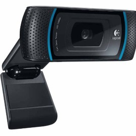 Logicool - HD Pro Webcam C910 (w/ Carl Zeiss Lens)