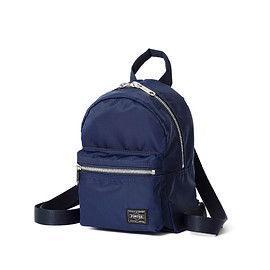 "HEAD PORTER - ""U-BAHN"" 2WAY MINI SHOULDER NAVY"