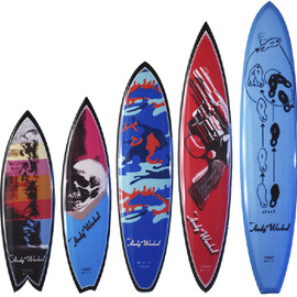 Andy Warhol - Surf Boards