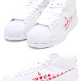 A BATHING APE - MILO GINGHAM CHECK SKULL STA HI