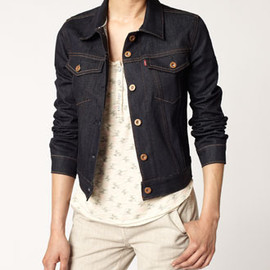 LEVI'S - Made in the USA Selvedge Trucker