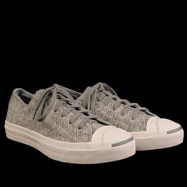 CONVERSE - JACK PURCELL LOOP TERRY OX IN OYSTER GREY