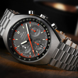 OMEGA - Speedmaster Mark II (2014) - Grey/Orange/Black