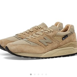 NEW BALANCE - NEW BALANCE M998 BLK MADE IN THE USA -SAND-
