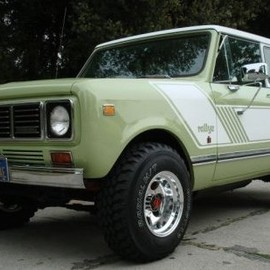 1976 International Scout II Rallye Front - 1976 International Scout II Rallye Front