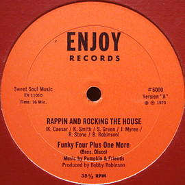 Funky Four Plus One More - Rappin And Rocking The House