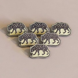 "The Radavist - 1"" Jackal Lapel Pin"