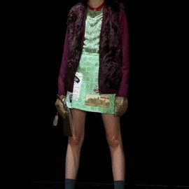 "UNDERCOVER - ""PSYCHO COLOR"" 12-13AW COLLECTION★"