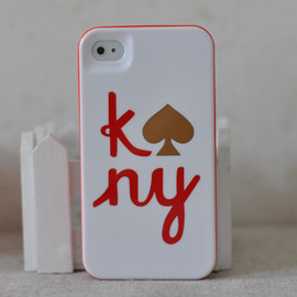 kate spade NEW YORK - case for iphone 4/4s KNY White
