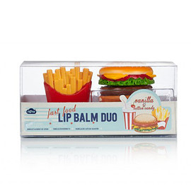 npw - Burger & Fries Lip Balm Duo