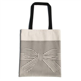 soraam - big bow canvas tote bag