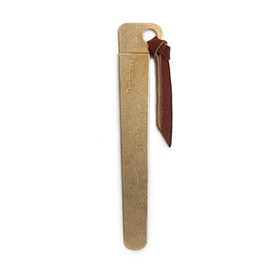 Tiny Formed - 「Tiny metal bookmark」Brass