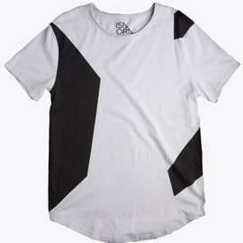 ISAORA - Color Block Printed T-Shirt
