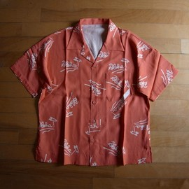 "PHINGERIN - ALOHA SHIRT ""ORANGE"""